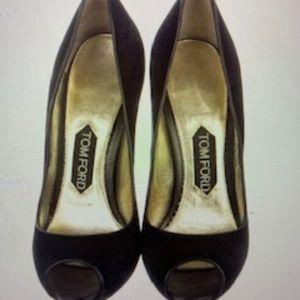 Tom Ford Peep Toe Heels